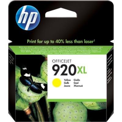 Inkoustová náplň HP 920XL (CD974AE) žlutá