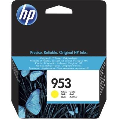 Inkoustová náplň HP 953 (F6U14AE) žlutá