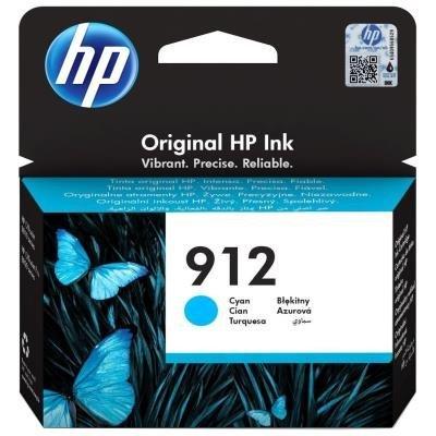 Inkoustová náplň HP 912 (3YL77AE) modrá
