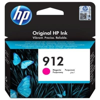 Inkoustová náplň HP 912 (3YL78AE) červená