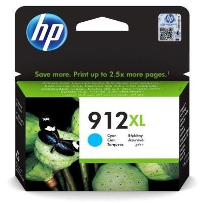Inkoustová náplň HP 912XL (3YL81AE) modrá