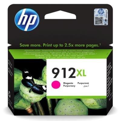 Inkoustová náplň HP 912XL (3YL82AE) červená