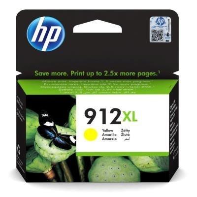 Inkoustová náplň HP 912XL (3YL83AE) žlutá