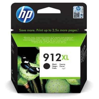 Inkoustová náplň HP 912XL (3YL84AE) černá