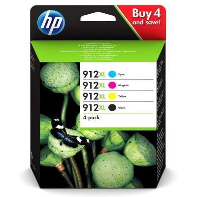 Inkoustová náplň HP 912XL (3YP34AE) CMYBK