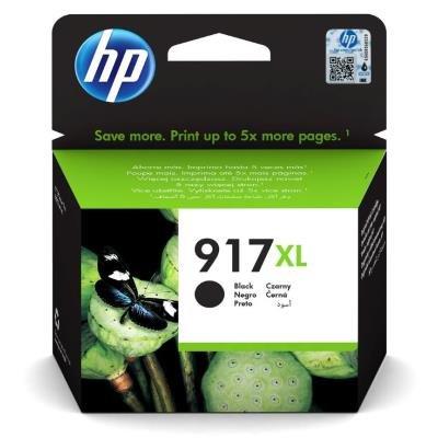Inkoustová náplň HP 917XL (3YL85AE) černá