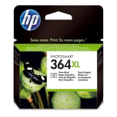 Inkoustová náplň HP 364XL (CB322EE) foto černá