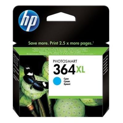 Inkoustová náplň HP 364XL (CB323EE) modrá