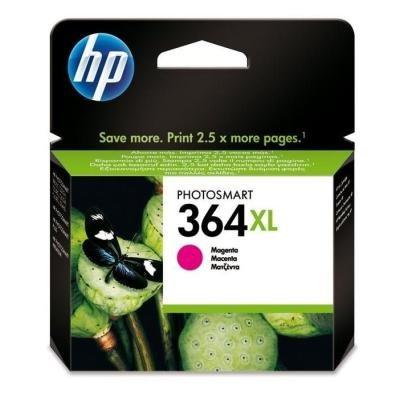Inkoustová náplň HP 364XL (CB324EE) červená