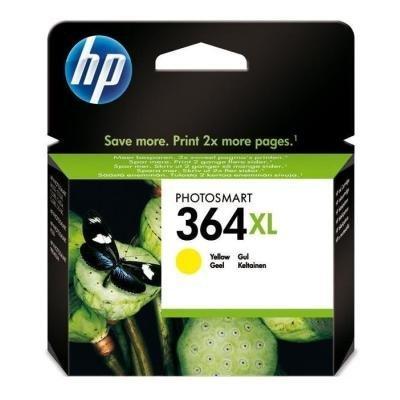 Inkoustová náplň HP 364XL (CB325EE) žlutá