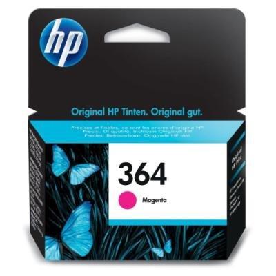 Inkoustová náplň HP 364 (CB319EE) červená