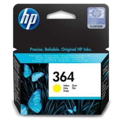 Inkoustová náplň HP 364 (CB320EE) žlutá