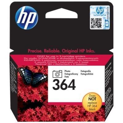 Inkoustová náplň HP 364 (CB317EE) foto černá