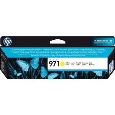 Inkoustová náplň HP 971 (CN624AE) žlutá