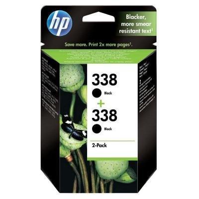 Inkoustová náplň HP 338 (CB331EE) černá 2ks