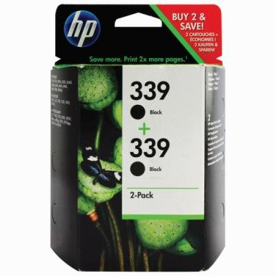 Inkoustová náplň HP 339 (C9504EE) černá 2ks