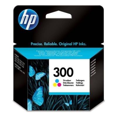 Inkoustová náplň HP 300 (CC643EE) CMY