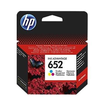 Inkoustová náplň HP 652 (F6V24AE) CMY
