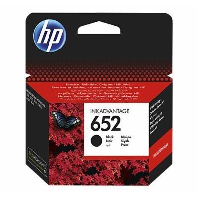 Inkoustová náplň HP 652 (F6V25AE) černá