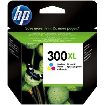 Inkoustová náplň HP 300XL (CC644EE) CMY