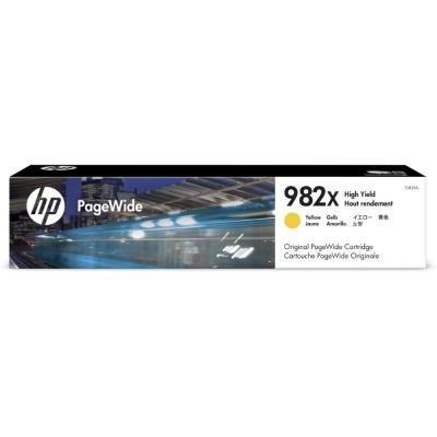 Inkoustová náplň HP 982X (T0B29A) žlutá