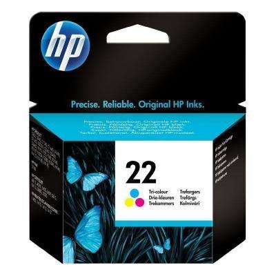Inkoustová náplň HP 22 (C9352AE) CMY
