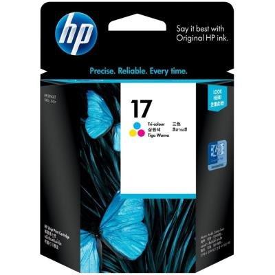 Inkoustová náplň HP 17 (C6625A) CMY