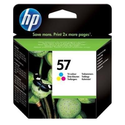 Inkoustová náplň HP 57 (C6657AE) CMY