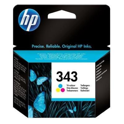 Inkoustová náplň HP 343 (C8766EE) CMY