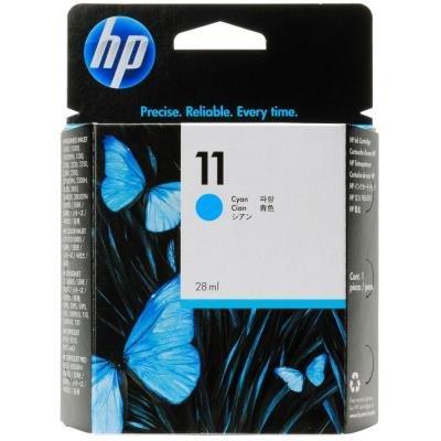 Inkoustová náplň HP 11 (C4836AE) modrá