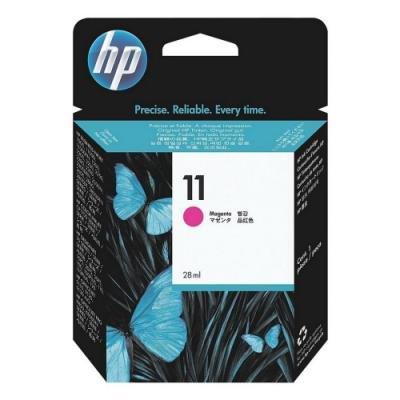 Inkoustová náplň HP 11 (C4837AE) červená