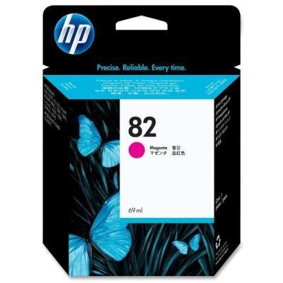 Inkoustová náplň HP 82 (C4912A) červená