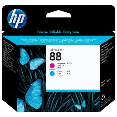 Inkoustová náplň HP 88 (C9382A) modrá červená
