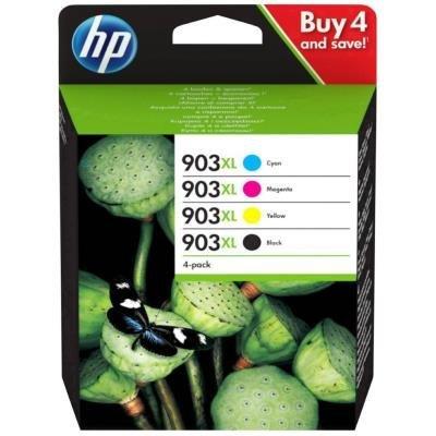 HP originální ink sada HP 903XL (CMYK, 825str) pro HP OfficeJet 6950, 6960, 6970