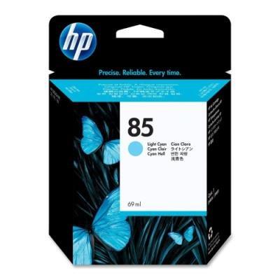 Inkoustová náplň HP 85 (C9428A) světle modrá