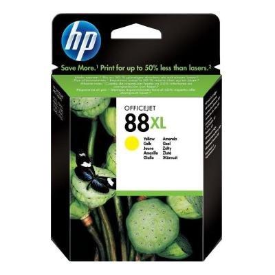 Inkoustová náplň HP 88XL (C9393AE) žlutá
