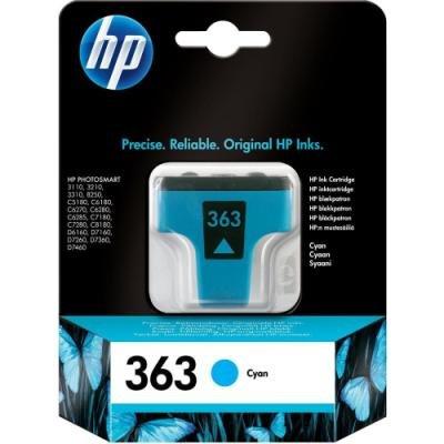 Inkoustová náplň HP 363 (C8771EE) modrá