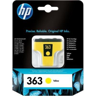 Inkoustová náplň HP 363 (C8773EE) žlutá
