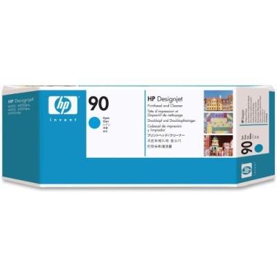 Tisková hlava HP 90 (C5055A) modrá