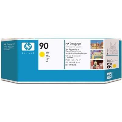 Tisková hlava HP 90 (C5057A) žlutá