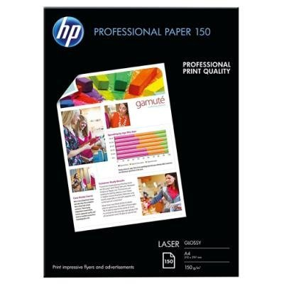 HP Professional Laser Photo Paper, Glossy, A4, 150 listů, 150 g/m2