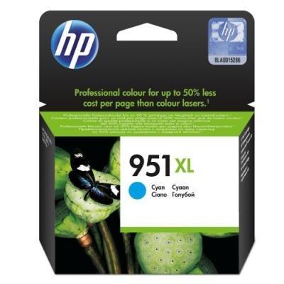 Inkoustová náplň HP 951XL (CN046AE) modrá