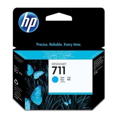 Inkoustová náplň HP 711 (CZ130A) modrá
