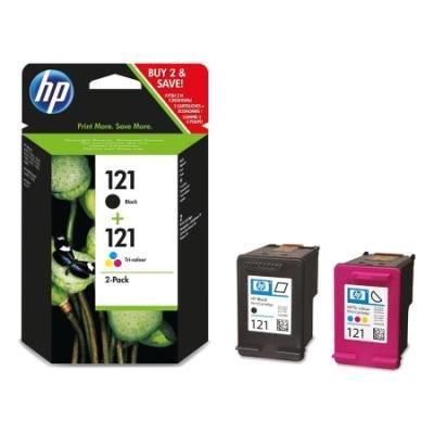 Inkoustová náplň HP 121 (CN637HE) multipack CMYK