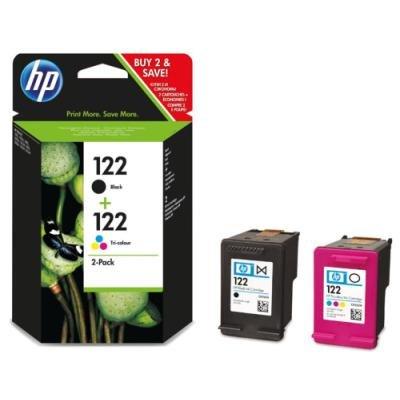 Inkoustová náplň HP 122 (CR340HE) multipack CMYK