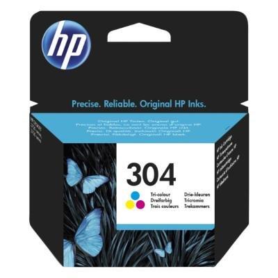 Inkoustová náplň HP 304 (N9K05AE) CMY