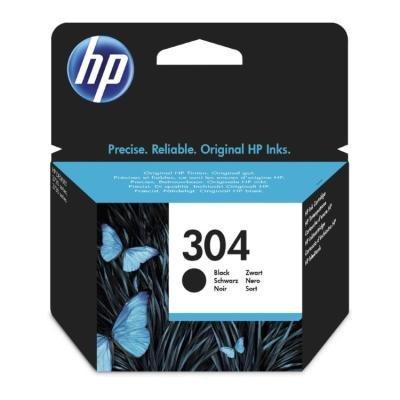HP 304 Černá originální inkoustová kazeta