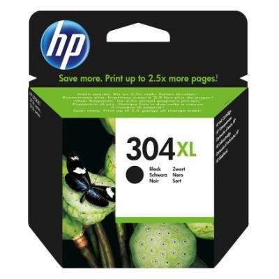 Inkoustová náplň HP 304XL (N9K08AE) černá