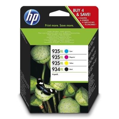Inkoustová náplň HP 934XL (X4E14AE) multipack CMYK