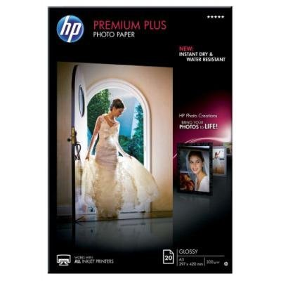 Fotopapír HP Premium Plus Photo Paper A3 20 ks